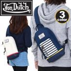 VonDutch ボンダッチ ボディバッグ Von Dutch ボディーバッグ ワンショルダー 人気の キャンバス メンズ レディース VD191 vondutch-017