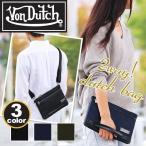 クラッチバッグ Von Dutch ボンダッチ 送料無料 バング クラッチ ショルダー