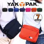 YAKPAK ヤックパック ショルダーバッグ ミニショルダー 耐久性に優れているコーデュラナイロン素材 メンズ レディース 通勤 通学 YP0502 yakpak-006
