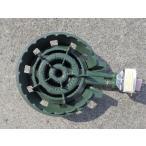 2連コンロセット 鋳物コンロLPガス用 羽根付きKW20 伊藤産業製