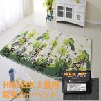 森田電工 ホットカーペット2畳 ホラグチカヨ デザインホットカバー付き 1年保証