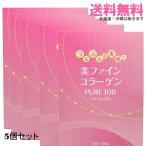 【送料無料】【5個セット】美ファインコラーゲン PURE100 300g×5