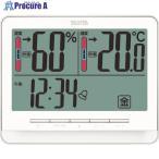 TANITA デジタル温湿度計 TT‐538‐WH TT-538-WH ▼765-8729 (株)タニタ