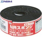 光 スポンジロール巻 30mmX1M 5t 黒 KSNR-10036T ▼788-6683 (株)光
