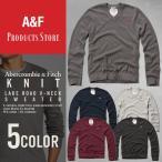 アバクロ ニット アバクロンビー&フィッチ セーター メンズ Abercrombie&Fitch アメカジ 正規品