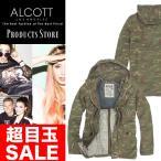 アルコット 迷彩 カモフラ ミリタリージャケット メンズ コットン JACKET ALCOTT イタリア Italy インポート 本物 正規品
