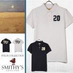 ポロシャツ メンズ 半袖 スミス イングランド SMITHY'S ENGLAND アメカジ インポート 正規品 本物 通販
