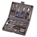 A4ブック型工具セット BK-31 家庭用 ツールセット DIY工具 ホームツールセット DIYセット 家具組立て 日曜大工 ケース付き