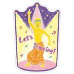 仏像ステーショナリー 仏像ダイカットポストカード  弥勒菩薩 b054  5個セット