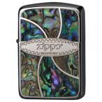 ZIPPO(ジッポー)ライター シェルメタルロゴ メタル貝貼り 41M-ZSHELL