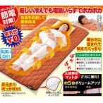 NEW暖暖あったか節電マット - 敷きパッド 保温マット 毛布 ひざ掛け NEW暖暖あったか節電マット サイズ200×100cm