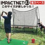 省スペースゴルフネット インパクトネット2.1(2.1mタイプ) 練習 用具 用品 器具 トレーニング