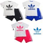 アディダス オリジナルス トレフォイル Tシャツ ショーツ 2点セット ベビー キッズ adidas INFANT SHORT TEE SET ELT75