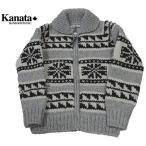 ショッピングカウチン KANATA カナタ カウチン セーター 雪柄 タイトタイプ メンズ&レディース
