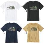 ノースフェイス THE NORTH FACE Tシャツ メンズ ショートスリーブ カモフラージュロゴティー 半袖 NT31622