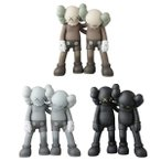 KAWS ALONG THE WAY BROWN/GREY/BLACK メディコム・トイ