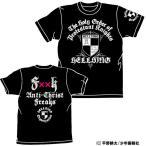 【送料無料対象商品】コスパ HELLSING ヘルシング機関 Tシャツ ブラック 【ネコポス/DM便対応】