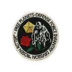 【ネコポス/DM便対応】コスパ 銀河英雄伝説 ローゼンリッター連隊章 ワッペン