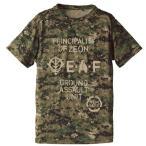 機動戦士ガンダム ジオン地球方面軍 カモフラージュドライ Tシャツ ウッドランド Lサイズ