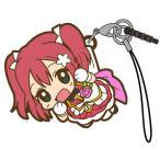 【ネコポス/DM便対応】コスパ ラブライブ!サンシャイン!! 黒澤ルビィつままれストラップ MIRAI TICKET Ver.