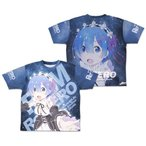 Re ゼロから始める異世界生活 レム 両面フルグラフィックTシャツ Lサイズ