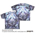 初音ミク Circulator 両面フルグラフィックTシャツ L コスパ