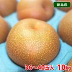徳島県産 梨(なし)豊水 赤秀・40玉 10kg
