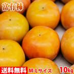 送料無料 奈良県産 富有柿 秀品・2L(約36玉入り)10kg箱