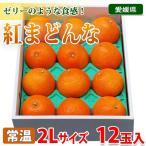 愛媛県産 紅まどんな 2Lサイズ 12玉入り(化粧箱)