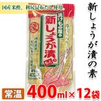 浅井食品 新しょうが漬のもと 400ml×12パック(1箱)