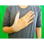 カンタン装着! 指のサポーター 軽度タイプ 親指固定 左右兼用 親指の痛み ドケルバン・腱鞘炎予防 プレゼント付き