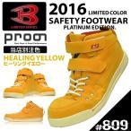 【送料無料】2016ver.「BURTLE&Prono」プラチナエディションMID安全靴 / P809 / 【2016 WEX 年間 安全靴】