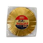 ショッピングケーキ 菓包 ファッションケース 120mm ゴールド 1000枚
