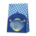 Yahoo!プロパックかっぱ橋.com Yahoo!店紙袋/シモジマ HEIKO 紙袋 窓付袋(内側全面ラミネート) パックンバッグ S1F ペンギン 50枚