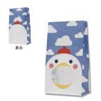 紙袋/シモジマ HEIKO 紙袋 窓付袋(内側全面ラミネート) パックンバッグ No.4 ニワトリ 50枚