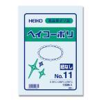 ポリ袋/シモジマ ヘイコーポリエチレン袋 0.03mm 紐なし No.11