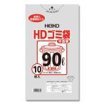 HDゴミ袋 半透明 厚口 90L 10枚