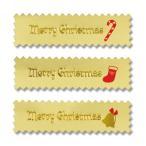 お取り寄せ クリスマス ギフトシール クリスマスメロディー 30片