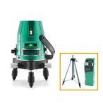 山真製鋸 レーザー墨出し器 グリーンレーザー 本体+受光器+三脚セット [GLZ-3-W]