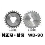 山真製鋸 2枚刃式チップソー切断機 純正刃・替刃 ダブルブレードオールマイティー [WB-90(替刃)]