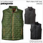 (PATAGONIA パタゴニア  ベスト) 84242< Men's Nano Puff Vest  メンズ ナノ パフ ベスト>※取り寄せ品