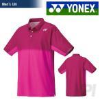 「2016新製品」YONEX(ヨネックス)「Uni ユニポロシャツ 12147」テニス&バドミントンウェア「2016SS」