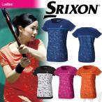 「8月末発売予定※予約」「2017新製品」SRIXON スリクソン 「WOMEN'S レディース TOUR LINE ゲームシャツ SDP-1763W」テニスウェア「2017FW」