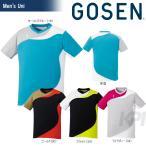 「2017新製品」GOSEN ゴーセン 「UNI ゲームシャツ T1708」テニスウェア「2017SS」