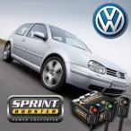 VW フォルクスワーゲン スプリントブースター 3パターン機能 切換スイッチ付 AT車用 LUPO POLO GOLF-IV BORA BEETLE PASSAT SBDD151A