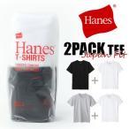 ショッピングJapan ヘインズ Tシャツ ジャパンフィット メンズ 2p Hanes Japan Fit クルーネック 2パックTEE