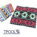 TPOOL トゥプール HAND TOWEL ハンドタオル T1401/ハンカチ パイル ネイティブ ジャガード アウトドア