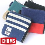 ポーチ チャムス CHUMS Square Coin Case Sweat Nylon CH60-0693