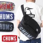 チャムス メッセンジャーバッグ ロゴ CHUMS Eco Logo Messenger Bag CH60-2326 ショルダーバッグ メンズ レディース 黒