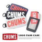 チャムスのロゴがそのままパスケースに♪